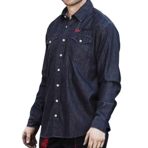 Red Torpedo Spanner Swarm Shirt - Black