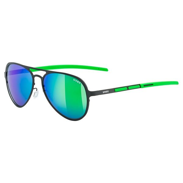Uvex Sunglasses LGL 29 - Black/Green