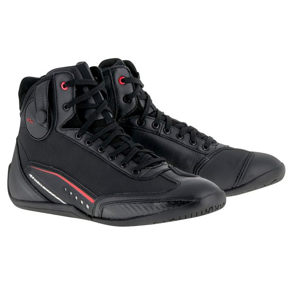 Alpinestars AST-1 Drystar Shoes - Black/Red