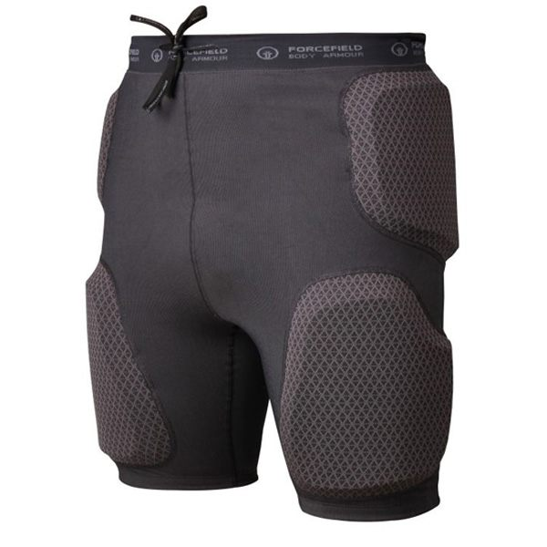 Forcefield Action Shorts C/W Sport Armour - Dark Grey