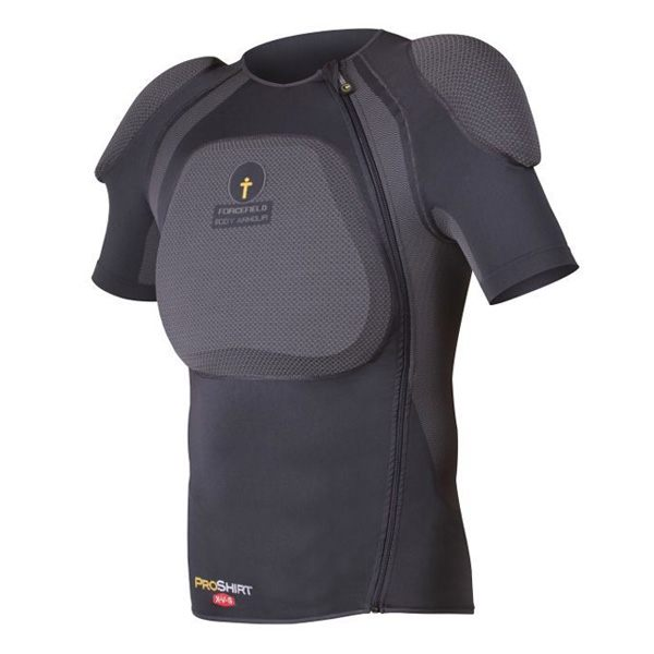 Forcefield Pro Shirt X-V-S With L2 Back Insert - Dark Grey