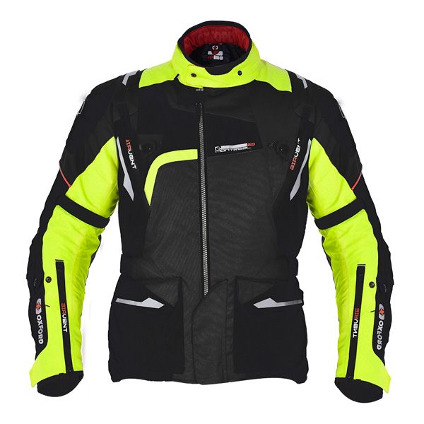 Oxford Montreal 2.0 Jacket - Black/Fluo Yellow