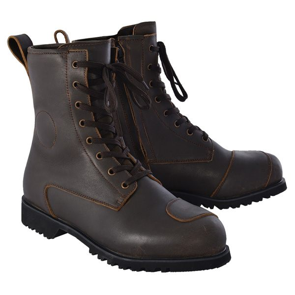 Oxford Merton MS Waterproof Boots - Brown