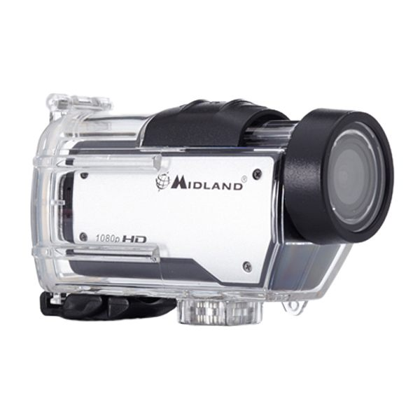 Midland XTC 280 1080p Action Camera Silver