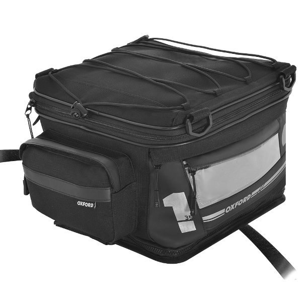 Oxford F1 Large Tail Pack 35 Ltr - Black