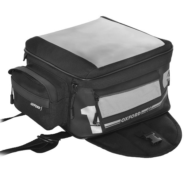 Oxford F1 Small Magnetic Tank Bag 18 Ltr - Black