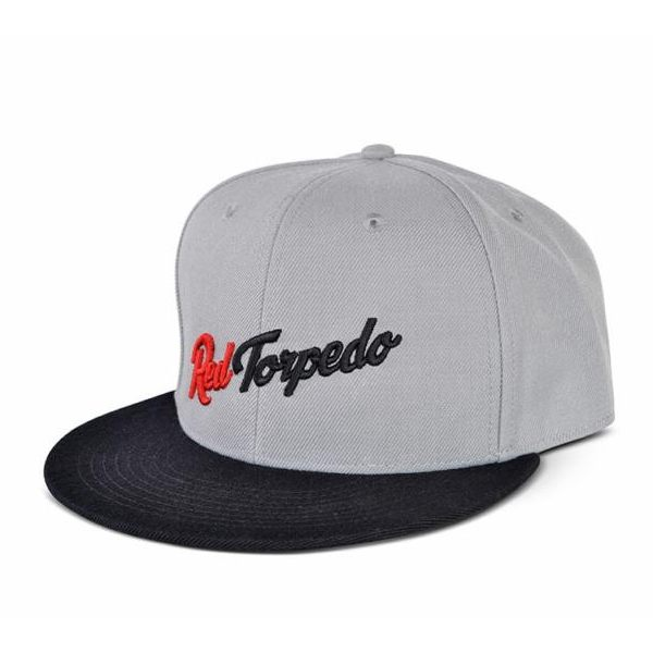 Red Torpedo RT Indian Cap - Grey/Black
