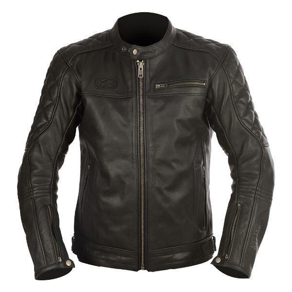 Oxford Route 73 Leather Jacket - Black
