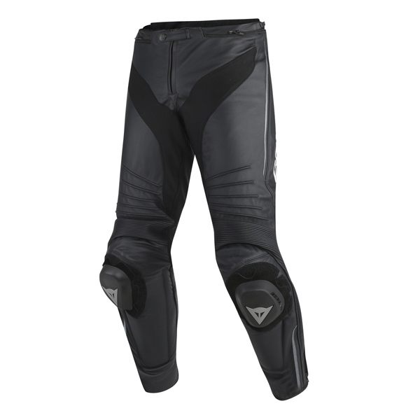 Dainese Misano Leather Jeans - Black/Anthracite
