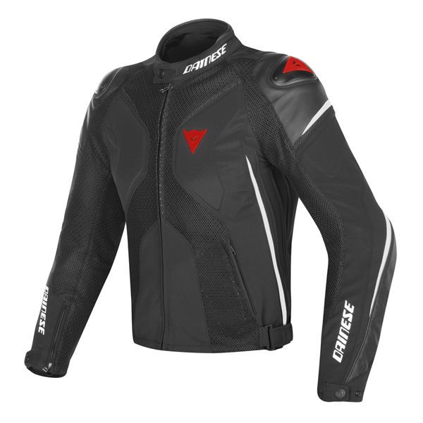 Dainese Super Rider D-Dry Jacket - Black/White/Red