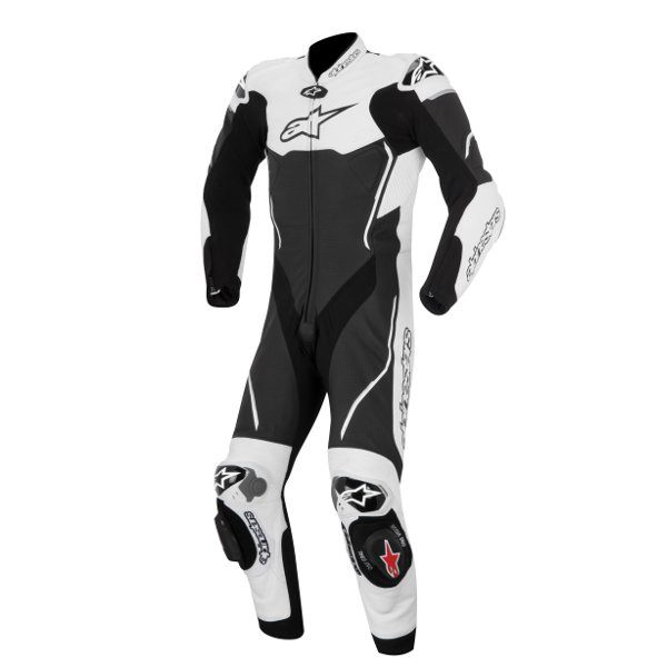 Alpinestars Atem Leather 1 Piece Suit - Black/White
