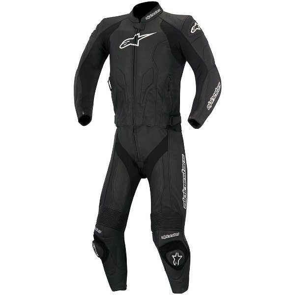 Alpinestars Challenger 2 Piece Leather Suit - Black