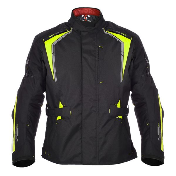 Oxford Subway 3.0 MS Long Jacket - Black/Fluo