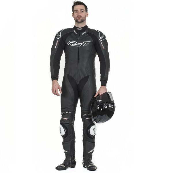 RST Tractech Evo 2 1415 1 Piece Leather Suit - Black