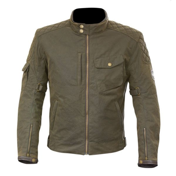 Merlin Hamstall Outlast Wax Jacket - Olive
