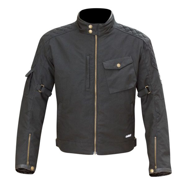 Merlin Hamstall Outlast Wax Jacket - Black