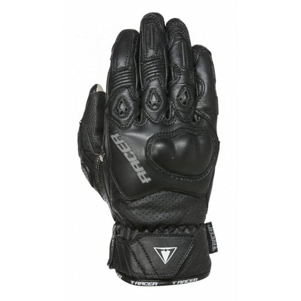 Racer Short Sport Gloves Ladies - Black