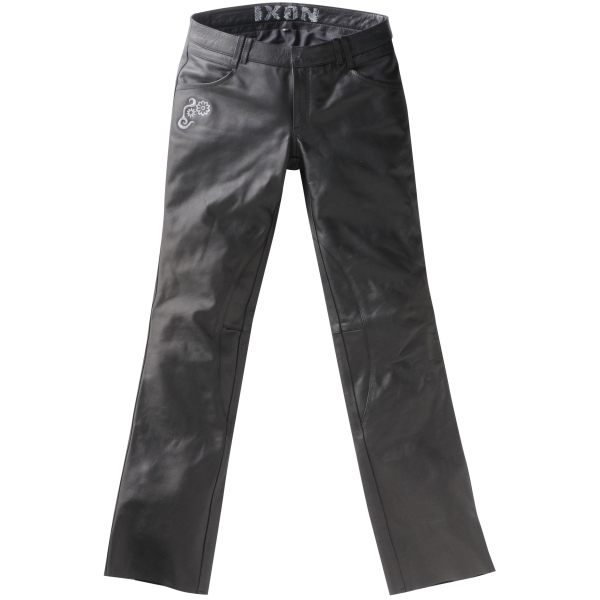 Ixon Rubis Leather Jeans Ladies - Black