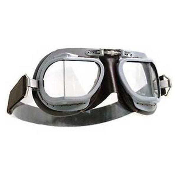Halcyon Goggles MK9 - Vented Grey/Brown
