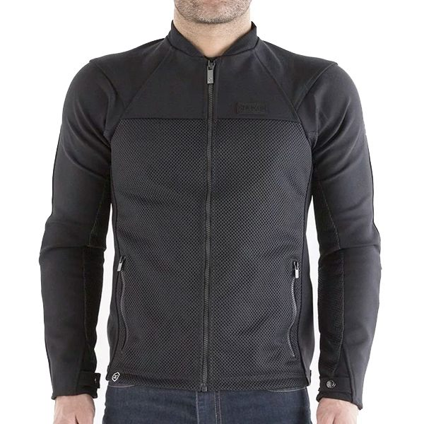 748a367ba Knox Zephyr Armoured Mens Jacket - Black