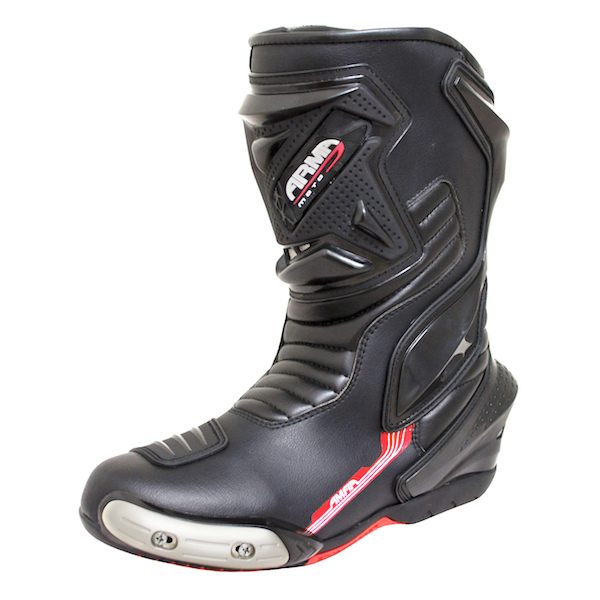 ARMR Moto Motegi Waterproof Boots - Black