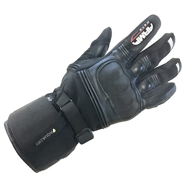ARMR Moto WP670 Outlast Waterproof Gloves - Black