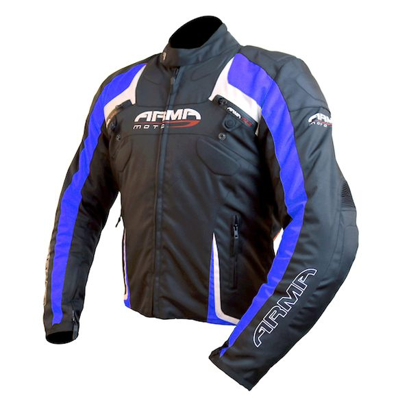 ARMR Moto Eyoshi Jacket - Black/Blue