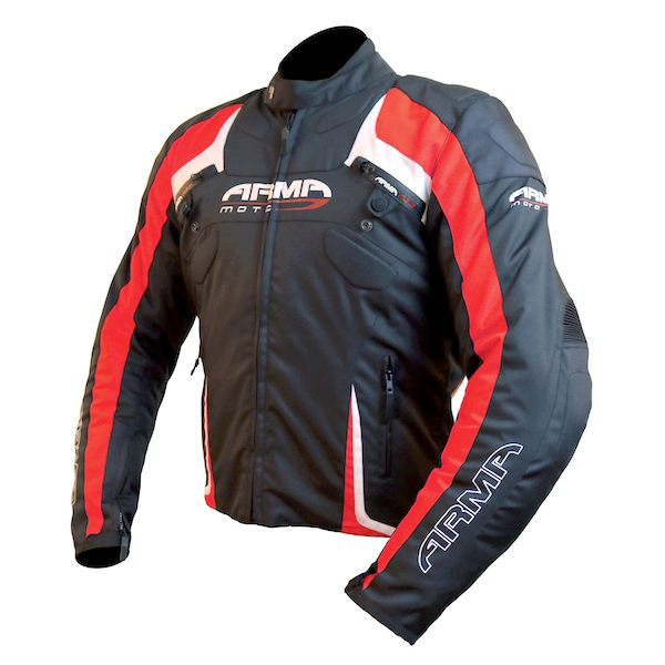 ARMR Moto Eyoshi Jacket - Black/Red