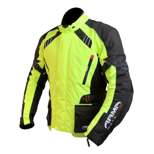 ARMR Moto Kiso 2 Jacket - Fluo Yellow