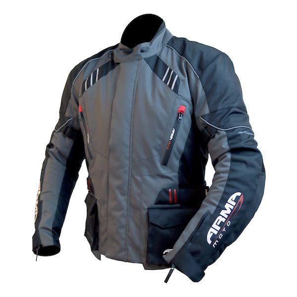 ARMR Moto Kiso 2 Waterproof Jacket - Gunmetal