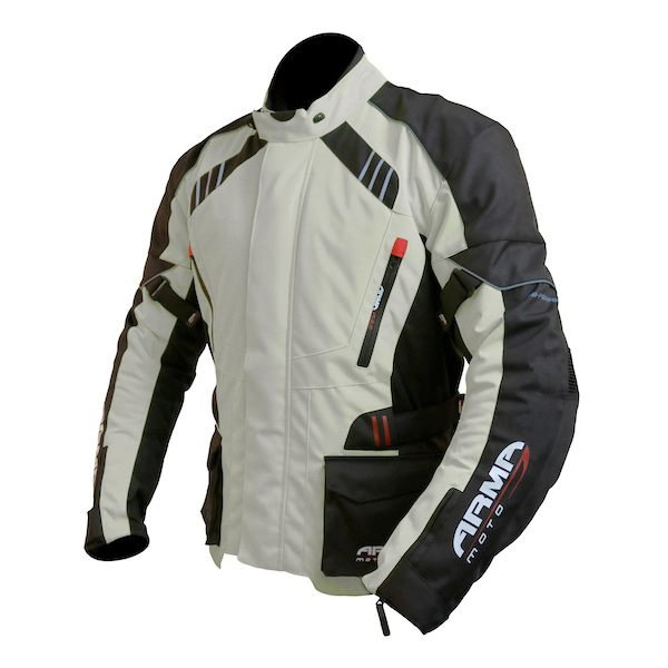 ARMR Moto Kiso 2 Waterproof Jacket - Stone