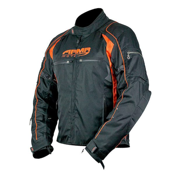 ARMR Moto Ukon Jacket - Black/Orange