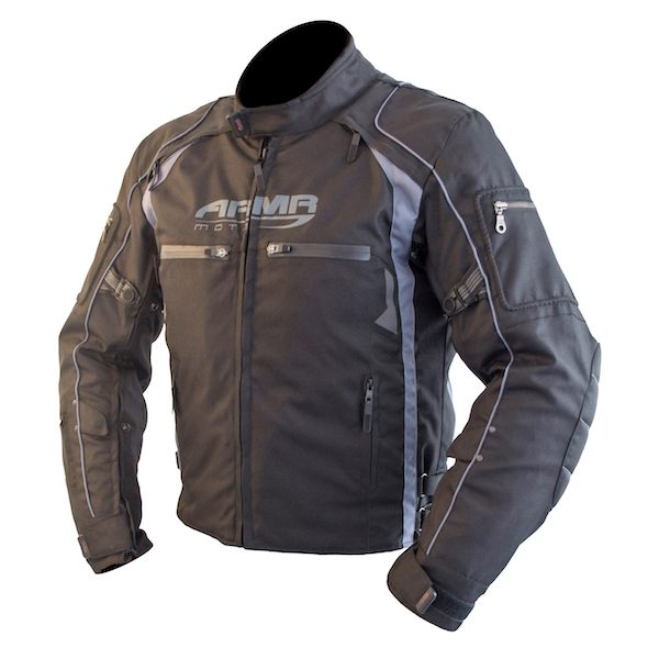 ARMR Moto Ukon Jacket - Black/Grey