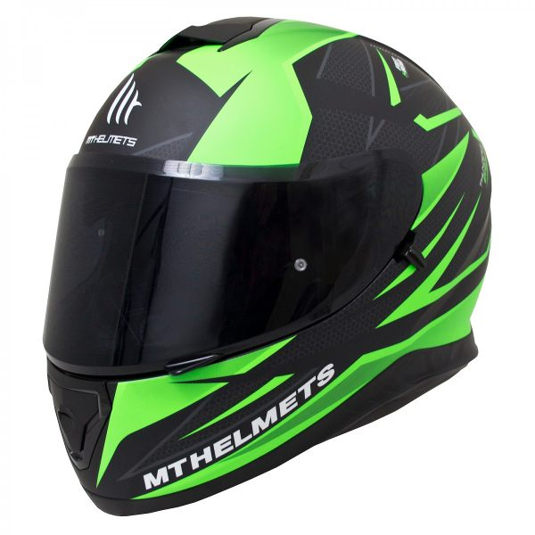 MT Thunder 3 SV - Effect Matt Black/Fluo Green