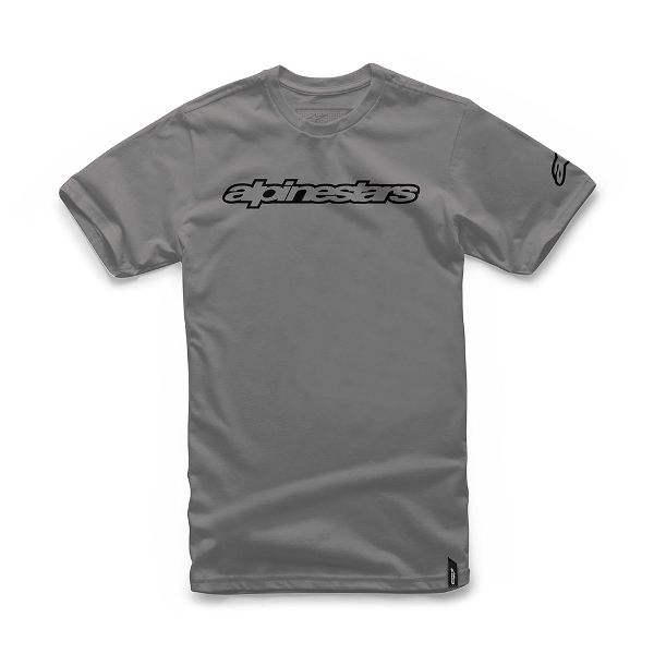 Alpinestars Wordmark Tee - Grey Heather