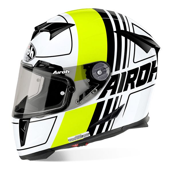 Airoh GP500 - Scrape Yellow/White