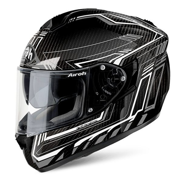 Airoh ST701 - Safety Full Carbon/White