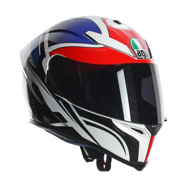 AGV K5 - Roadracer UK White/Red/Blue