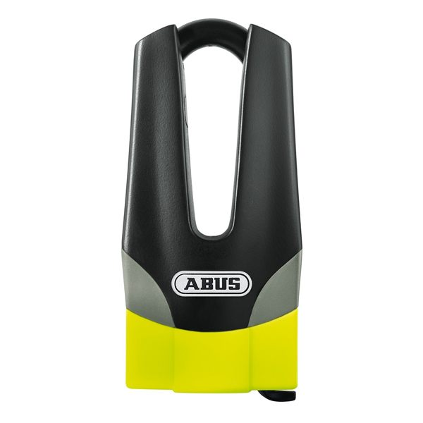 Abus Granit Quick 37/60 Mini Disc Lock 53x11mm - Yellow