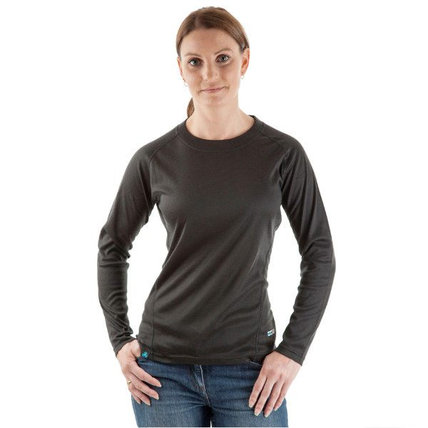 EDZ All Climate Thermal Baselayer Long Sleeve Top Ladies - Black