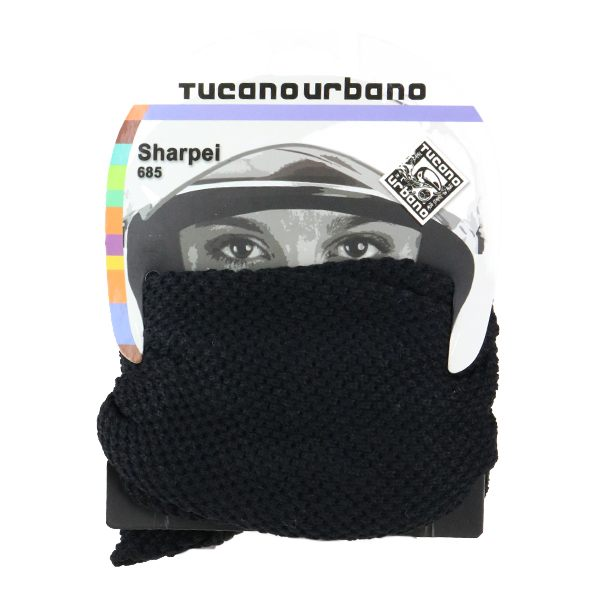 Tucano Urbano Sharpei Knitted Collar - Black