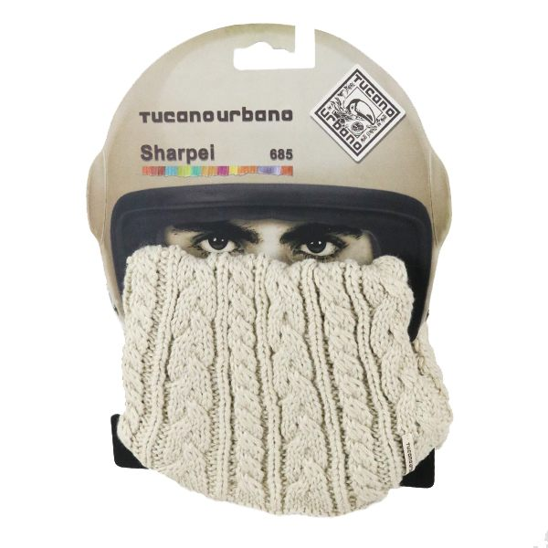 Tucano Urbano Sharpei Knitted Collar - Cable Beige - 68546