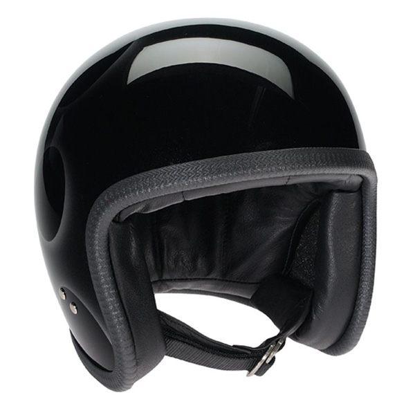 5d0bd32cf454 Davida 92 Motorcycle Helmet Black/Silver Flames   Free next day UK delivery