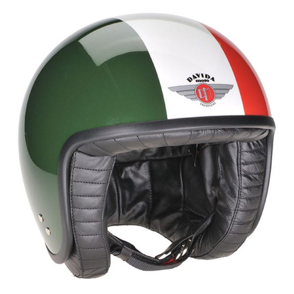 Davida Jet - TT Green/White/Red
