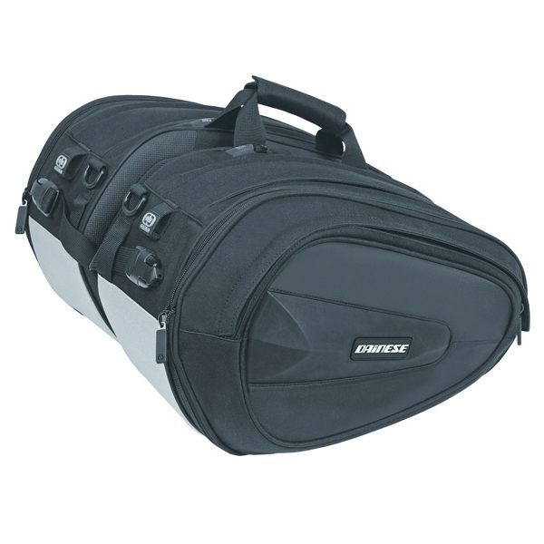 Dainese D-Saddle Motorcycle Bag - Stealth Black