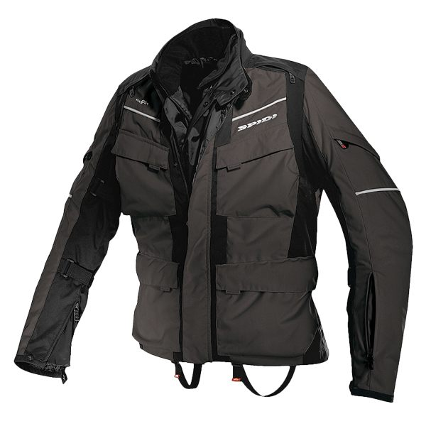 Spidi H2OUT Venture Waterproof Jacket - Black/Anthracite