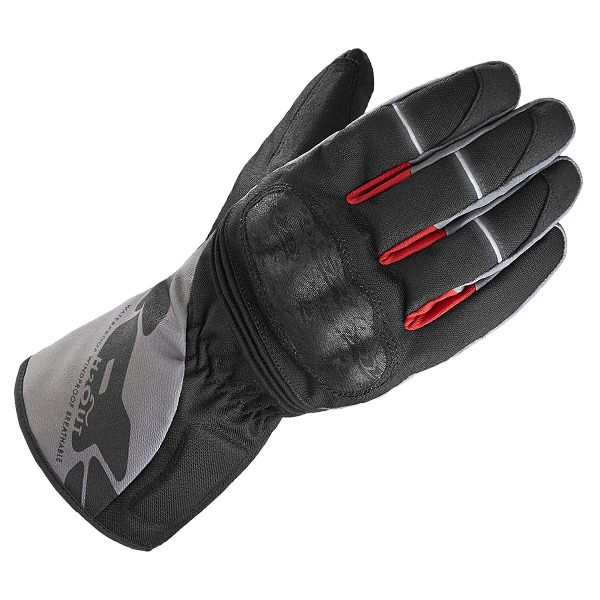 Spidi WNT-1 Waterproof Gloves - Black/Grey