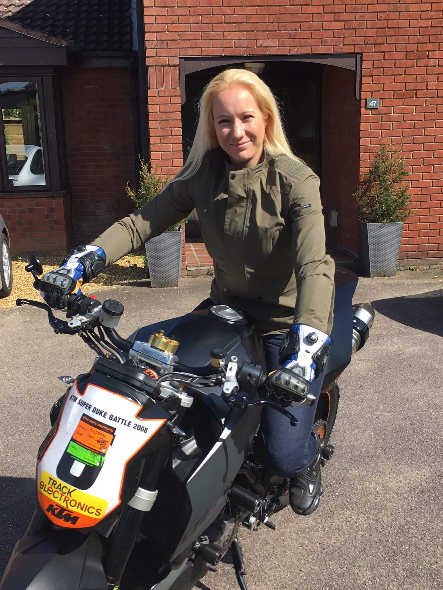 Lydia from Infinity Motorcycles Norwich