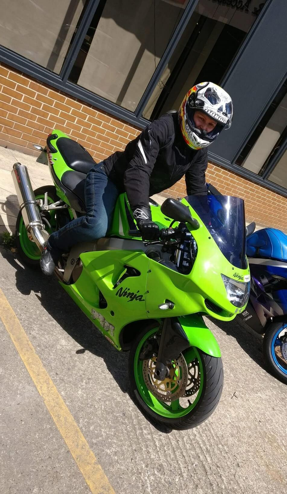 Ola from Infinity Motorcycles York