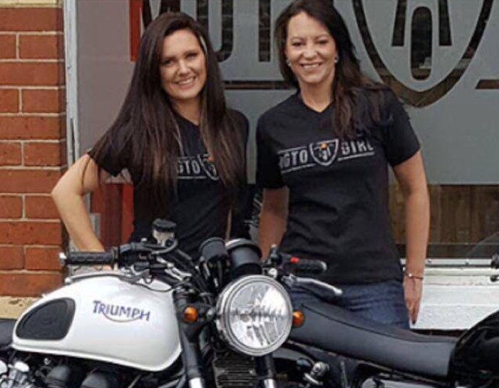 Ellen and Ina of Motogirl